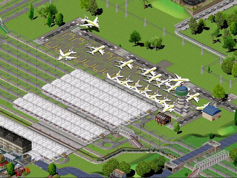 Wake airport